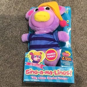 Sing-a-ma-Lings musical toy NWT Pierre
